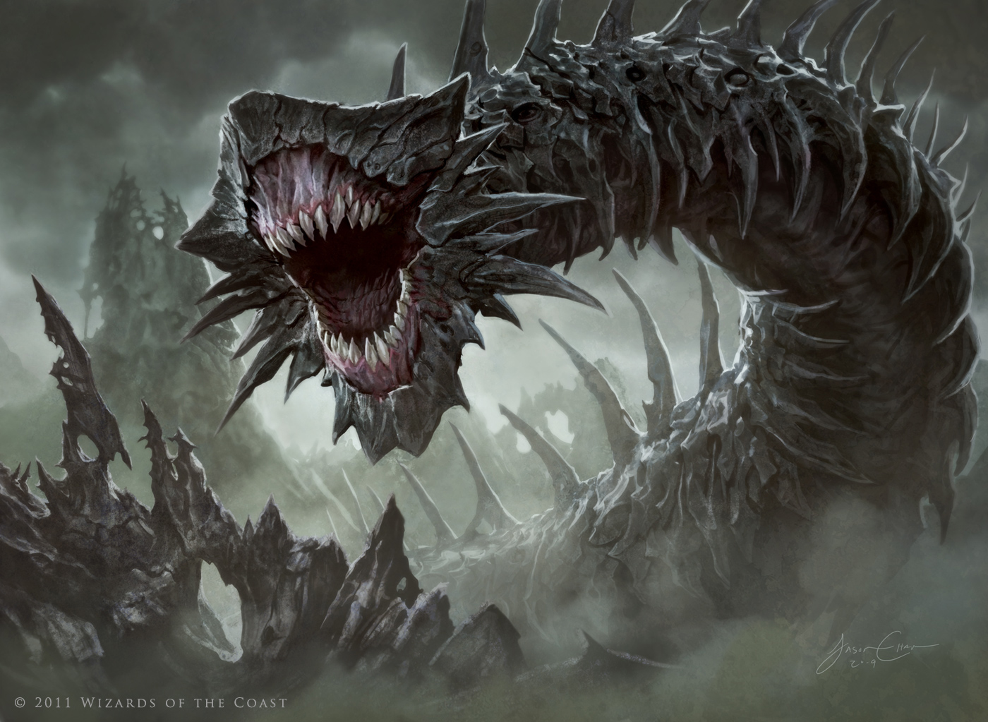 Massacre-Wurm-MtG-Art.jpg